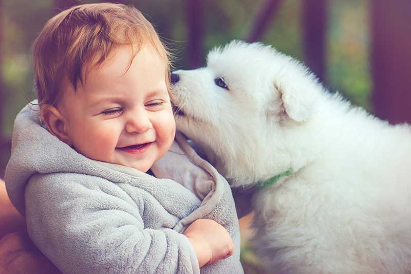 Kids and pets are adorable!
